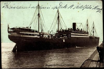 Dover, Hapag, S.S. Pennsylvania, Dampfschiff