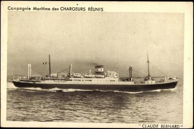 Dampfer Claude Bernard, Compagnie Chargeurs Reunis