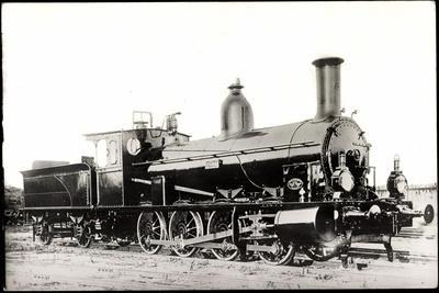 Foto Deutsche Güterlok Nr. 55 7002 Preußen