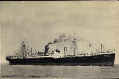 Hapag, S.S. Duivendijk, Dampfschiff, Rauch