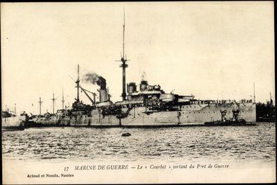 Französisches Kriegsschiff Courbet, Port De Guerre