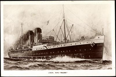 L.N.E.R, R.M.S Malines, Steamer, London and North East