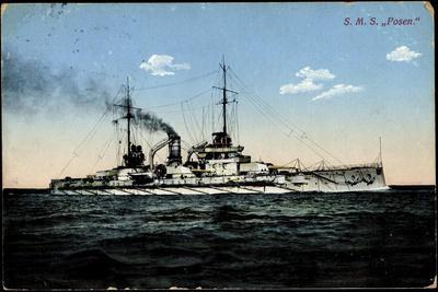 Kriegsschiffe Deutschland, S.M.S. Posen