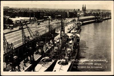 Bordeaux, Port Autonome, Torpilleurs Amarrès