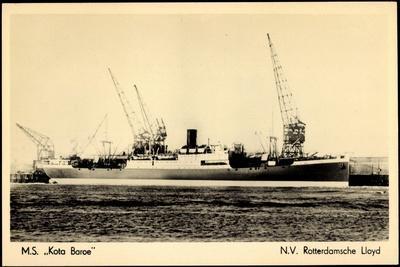 Rotterdamsche Lloyd, Krl,Dampfschiff M.S. Kota Baroe