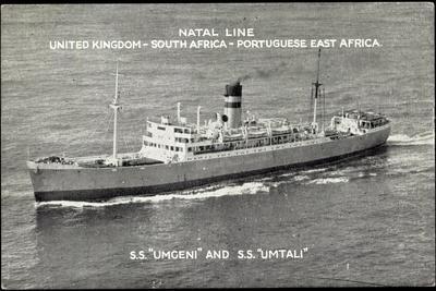 Natal Line, S.S. Umgeni, S.S. Umtali, Dampfer