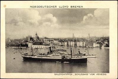 Venedig, Dampfer Schleswig, Norddeutscher Lloyd