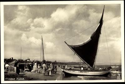 Seebad Ahlbeck, Strandpartie, Segelboot Berlin