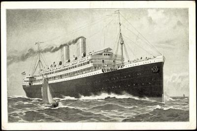 Norddeutscher Lloyd Bremen, Dampfschiff in Fahrt
