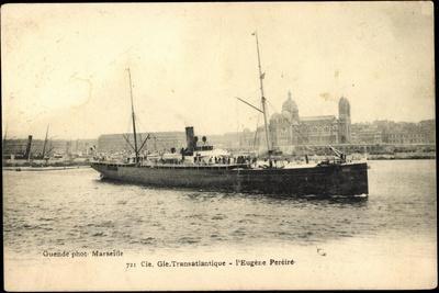French Line, Cgt, Dampfschiff Eugène Perèire