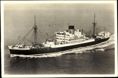 Glen Line Limited, M.V. Glenartney, Dampfschiff