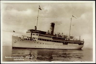 Reederei Braeunlich Stettin, Dampfschiff Rugard