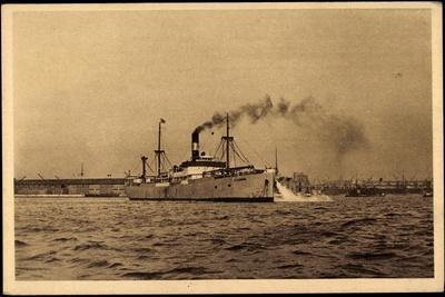 Dampfschiff Charles Le Borgne, Mittelmeer, Vapeur