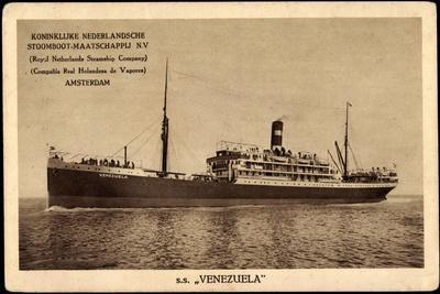 Kpm Line, S.S. Venezuela, Stoomboot, Dampfer