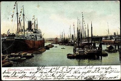 Hamburg, Hafen IV, Dampfschiff Pennsylvania