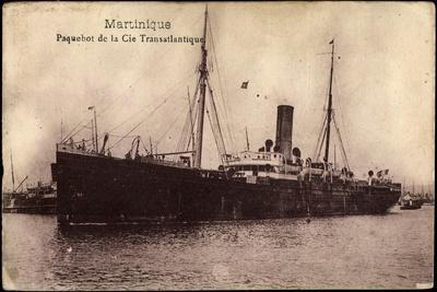 Cgt, French Line, Paquebot Martinique, Dampfschiff