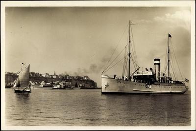 Helgoland Nordsee, Dampfer Adler, Argo Reederei