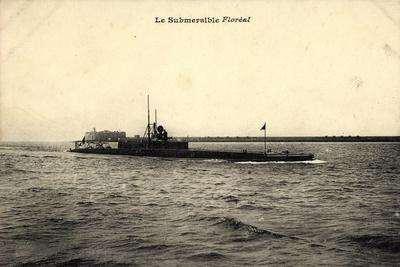 U Boot, Le Submersible Floréal Auf Hoher See