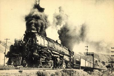 Eisenbahnen, USA, Dampflokomotive, 2DD2, Big Boy