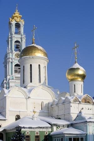 Russia, Golden Ring, Sergiev-Posad, Cathedral of Trinity