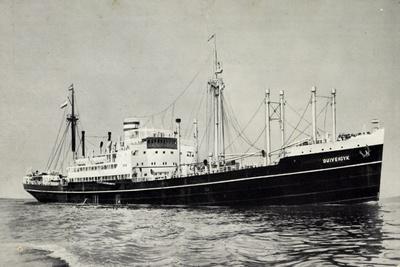 Dampfer S.S. Duivendyk, Holand America Line
