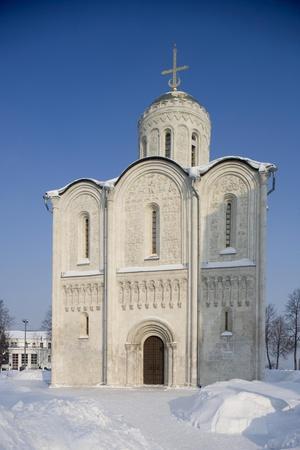 Russia, Golden Ring, Vladimir, Cathedral of Saint Demetrius