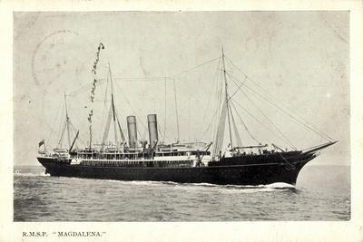 Royal Mail Lines, R.M.S.P, Magdalena, Dampfer