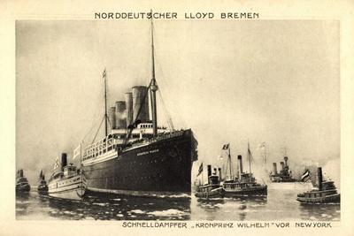 Norddeutscher Lloyd Bremen, Dampfer Kronprinz Wilhelm