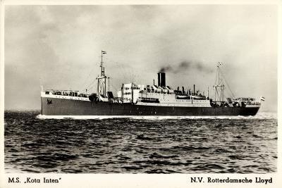Rotterdamsche Lloyd, Krl, M.S. Kota Inten, Dampfer
