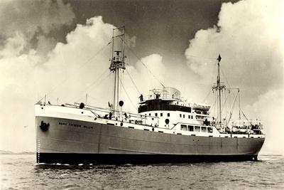 Oranje Lijn, M.S. Prins Frederik Willem, Dampfschiff