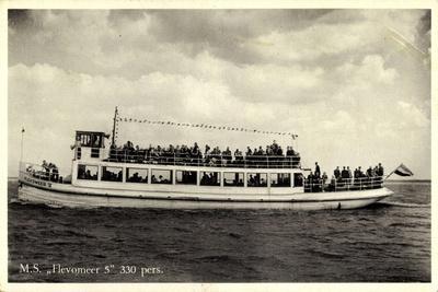 Dampfer M.S. Flevomeer, Veluwemeer, Harderwijk
