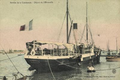 Abfahrt Des Dampfer Hirondelle, Service De Casamance