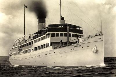 Reederei Braeunlich Stettin, S.S. Rugard, Dampfer
