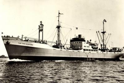 Dampfer M.S. Prins Johan Willem Friso, Oranje Lijn