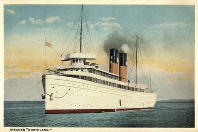 White Star Line, Steamer Northland, U.S Flag