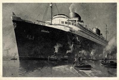 Norddeutscher Lloyd Bremen, Dampfschiff Bremen