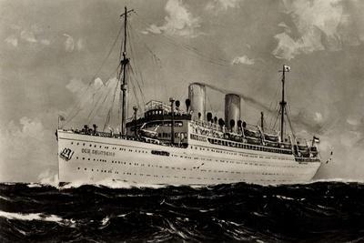 Norddeutscher Lloyd Bremen, Dampfschiff Der Deutsche