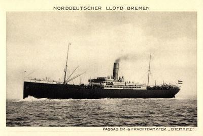 Norddeutscher Lloyd Bremen, Dampfer Chemnitz
