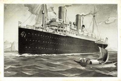 Künstler Norddeutscher Lloyd Bremen, Dampfschiff