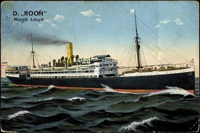 Dampfer Roon, Norddeutscher Lloyd Bremen