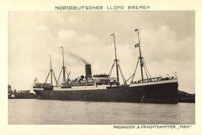 Norddeutscher Lloyd Bremen, Dampfer Main