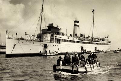 Hapag, Dampfer Kaiser Beim Ausbooten, Passagiere