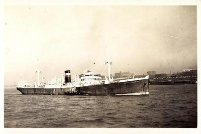 Foto Steamer Anglo Canadian, 1928, Belfast Daily Exp