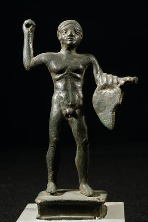Bronze Statuette Depicting Warrior, Samnite Culture BC