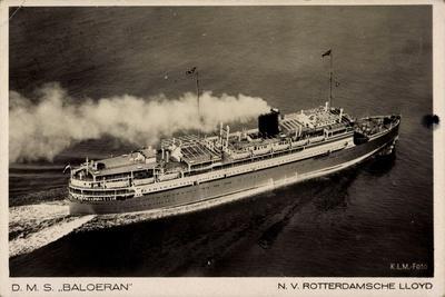 Dampfer S.M.S. Baloeran, Rotterdamsche Lloyd