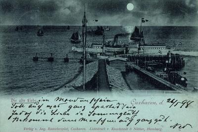 Mondschein Cuxhaven, Die Alte Liebe, Dampfer