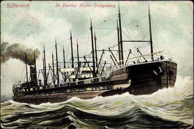 Segelschiff, Der Vierzehnmaster Crangesberg, Dampfer