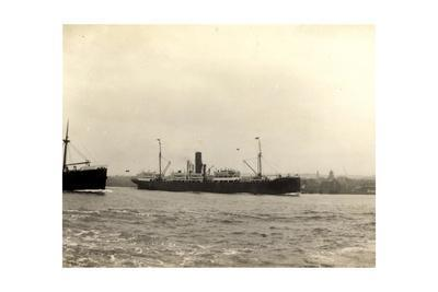 Steamer Smolensk, Wilson Line, Dampfschiff