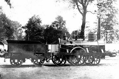 Eisenbahn, Belgien, Dampflok, John Cockerill, 1835