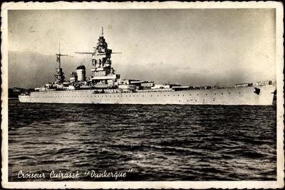 Kriegsschiffe Frankreich,Croiseur Cuirassé Dunkerque